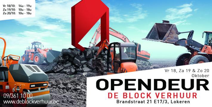 Opendeur De Block Verhuur